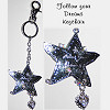 Follow Your Dreams Key Chain with Charm
