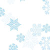 Let It Snow Blue Cellophane Roll 24 x 100