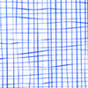 Funky Blue Grid Cellophane Roll 24 x 100
