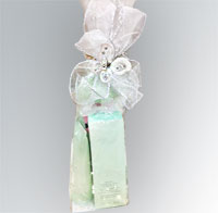 gift wrapped sample