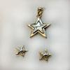 Slider Set Star with Earrings