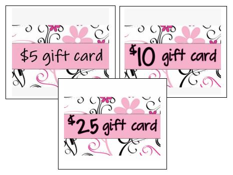 gift cards combo pack