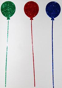 Stickers Glitter Balloons