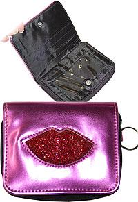 Glitter Lip Wallet