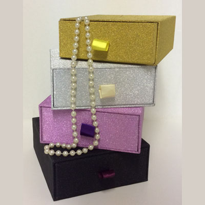 Glitter Trinket or Jewelry Box