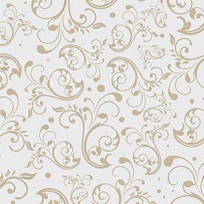 Gold Swirls Literature Bag 7 x 11
