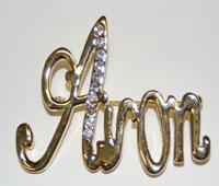 Avon Cursive Pin