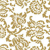 Gold Damask Cellophane Roll 24 x 100