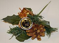 Holiday Foliage Golden Glitter Pine