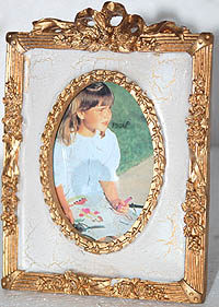 Golden Ribbons Frame
