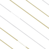 Gold and Silver Diagonal Lines Cello Roll 24 x 50