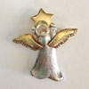 Gold and Silver Angel Pin