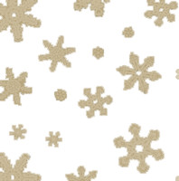 Gold Snowflakes Cellophane Roll 30 x 100