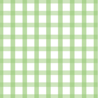 Green Country Gingham  3 x 7.5 inch Cellophane Bags