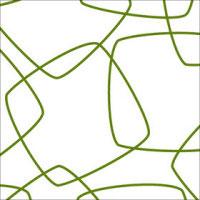 Green Retro Squares Cellophane Roll 24 x 100
