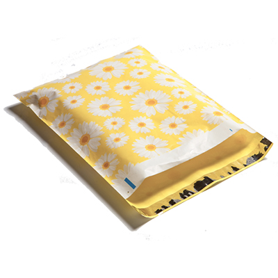 Happy Daisies Poly Mailers 10x13
