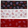 Headbands Sequined Hearts