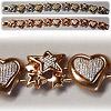 Bracelet - Heart and Stars