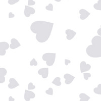 Shimmer Hearts Cellophane Roll 24 x 100