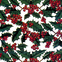 Hollyberries Cellophane Roll 30 x 100