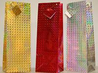 "Gift Bag Tall Holographic 14"" x 5"""