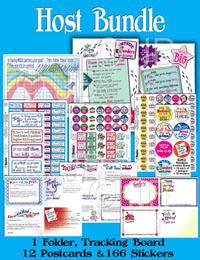 Host Bundle Stickers