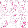 Sassy Swirls Hot Pink Shimmer Self Sealing Cellophane Bag 3 x 5