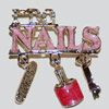 I do nails pin