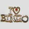 I Love Bingo Pin