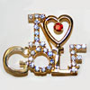 I Love Golf Pin