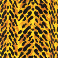 "Leopard Print Cellophane Roll 24"" x 50'"