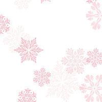 Pink Pearl Snowflakes
