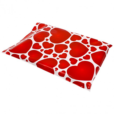 Lots of Hearts Poly Mailers 10x13