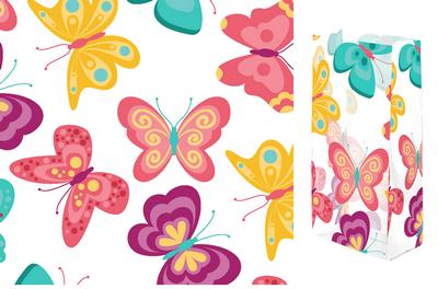 Lovely Flutter 4x9 Cellophane Bags