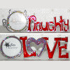 Love or Naughty Frame