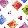 Love Squared Cellophane Roll 24 x 100