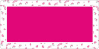 Pink Jewels and Magenta Mailing Labels 2x4 inch