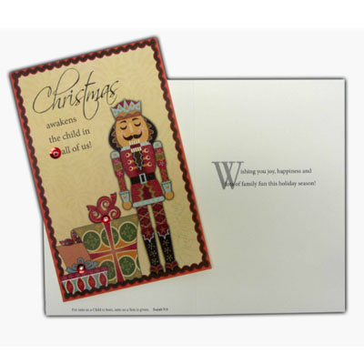 Nutcracker Prince Christmas Card
