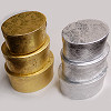 Oval Foil Stacking Boxes