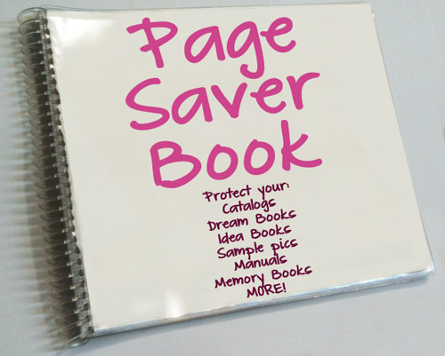 Page Saver Book