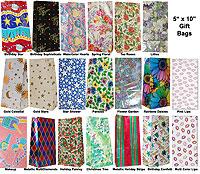 25 Gift Bags Printed Designs