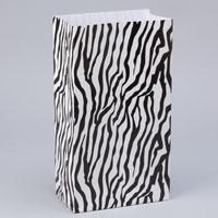 Party Paper Bags Zebra