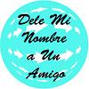 63 Stickers Dele Mi Nombre a Un Amigo