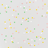 Pastel Confetti Dots Cello Roll 24 x 50