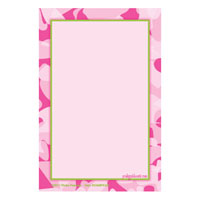 Pink Camouflage Caddy Refill Notes