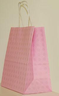 16 x 19 Pink Dots Gift Bag