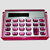 Pink Jeweled Calculator