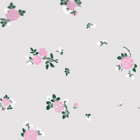 Light Pink Flowers Cello Roll 24 x 50