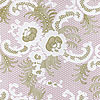 Lacy Design Pink and Gold Cello Roll 24 x 50
