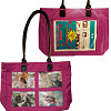 4 Front Pocket Pink Photo Bag